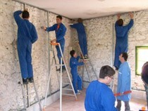 ремонт стен помещений Бийск