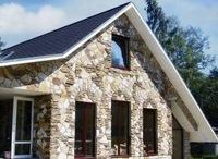 Монтаж фасадов, облицовка зданий кирпичом и камнем в Бийске