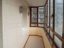 Отделка балкона в Бийске. Отделка лоджии